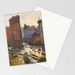 The Flatiron Building by Samuel Halpert, 1919 - NYC Stationery Cards