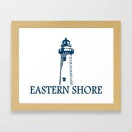 Eastern Shore - Maryland. Framed Art Print