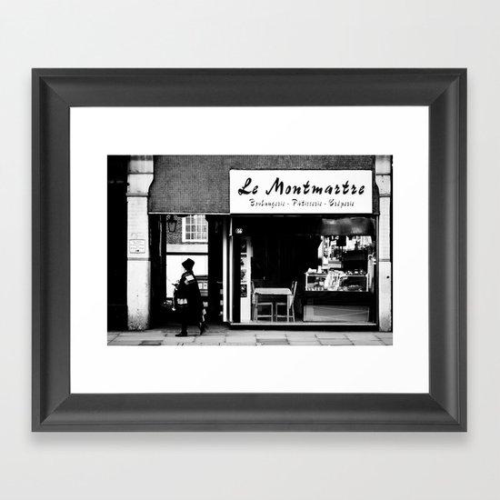 Boulangerie Le Montmartre Framed Art Print