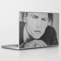 johnny depp Laptop & iPad Skins featuring Johnny Depp by Brooke Shane