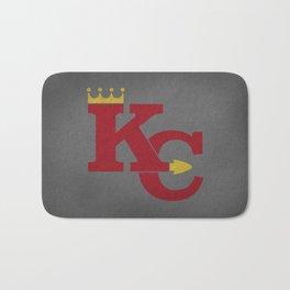 Kansas City Sports Red Bath Mat