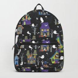 Halloween Haunted Houses Backpack