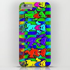 Grateful Dead Dancing Bears Colorful Psychedelic Characters #2 Slim Case iPhone 6 Plus
