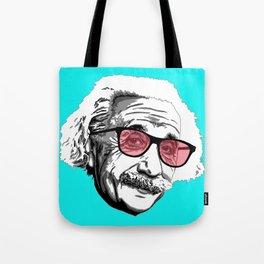 Einstein in summer Tote Bag