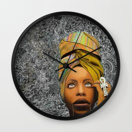 Kween Badu Wall Clock