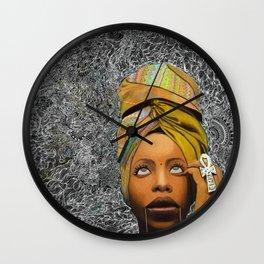 Kween Badu Wall Clock