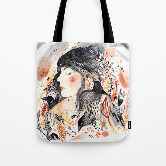 Crows & I Tote Bag