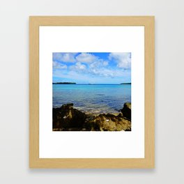 Port Vila Bay Framed Art Print