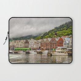 Bergen Village Norway Landscape Laptop Sleeve