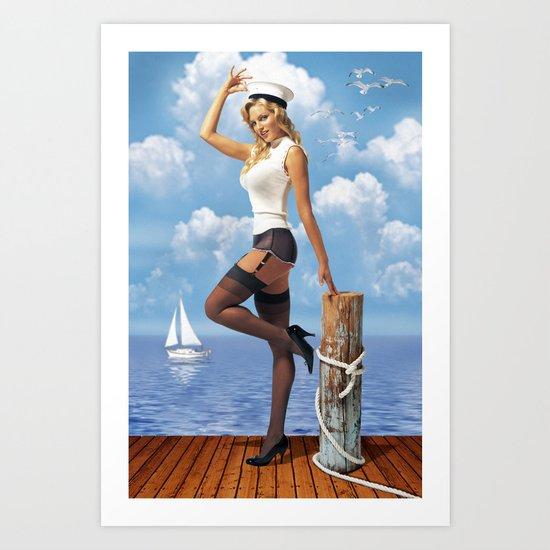 Skipper Art Print