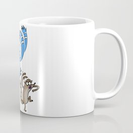 Mordecai & Rigby - Regular Show Coffee Mug