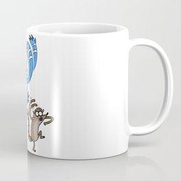 Mordecai & Rigby - Regular Show Coffee Mug