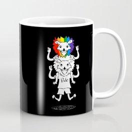 Gay Pride Lions Coffee Mug