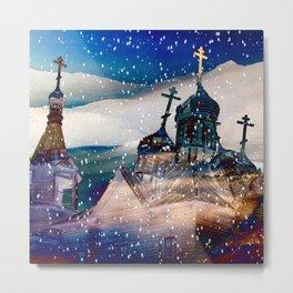 Siberian Winter Metal Print