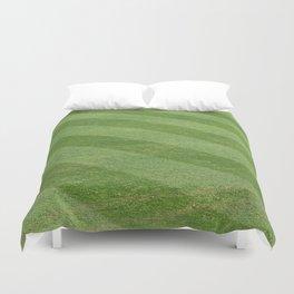 Play Ball! - Freshly Cut Grass Duvet Cover