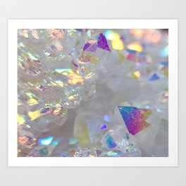 Angel aura Art Print
