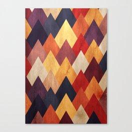 Eccentric Mountains Canvas Print