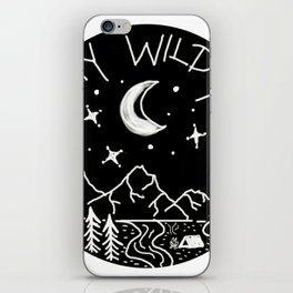 Stay Wild Moonchild iPhone Skin