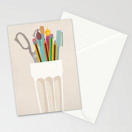 Pencil Pot Stationery Cards