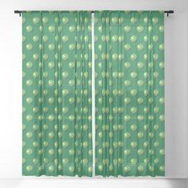 Green Apple_B Sheer Curtain
