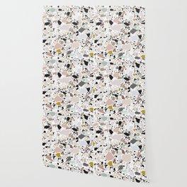 Terrazzo Pattern II. Wallpaper