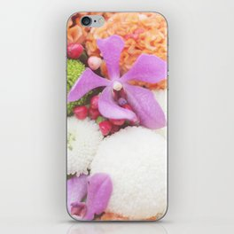Floral Touch iPhone Skin