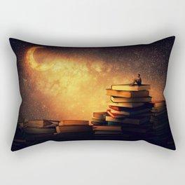 midnight tale Rectangular Pillow