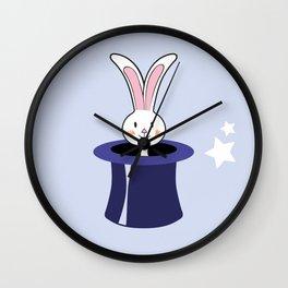 Hocus pocus - purple Wall Clock