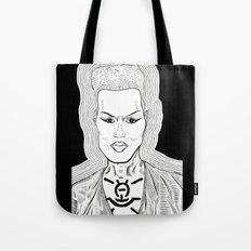 grace jones - chest paint Tote Bag