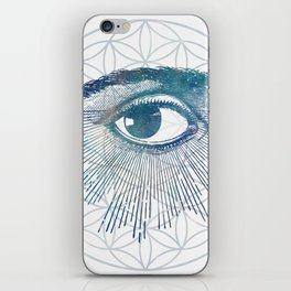 Mandala Vision Flower of Life iPhone Skin