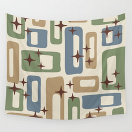 Mid Century Modern Geometric Abstract 131 Wall Tapestry