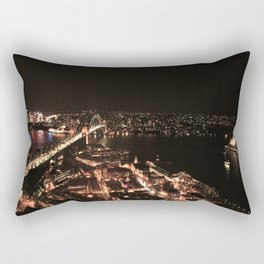 Sydney at night Rectangular Pillow