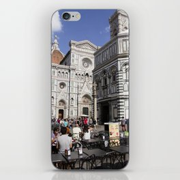 Breakfast with El Duomo iPhone Skin