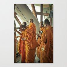 Hi-tech Monks Canvas Print
