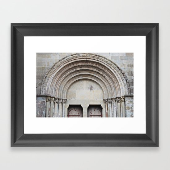 Carcassonne, France Framed Art Print