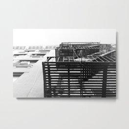 More Lines NY Metal Print