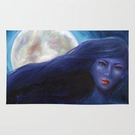 Purple Woman Rug
