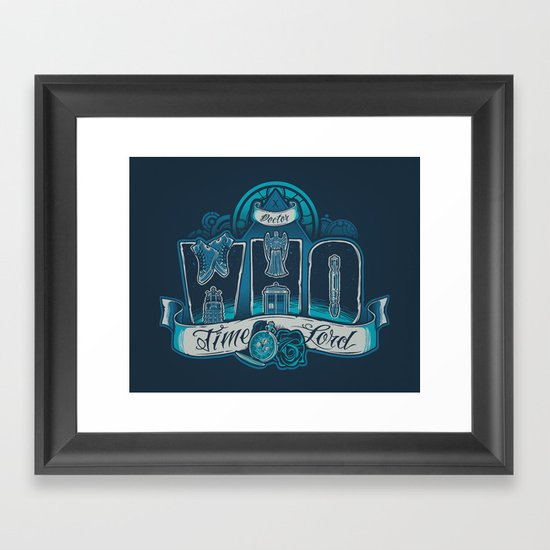 Infinite Who Framed Art Print