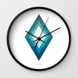 Hope 02 | Geometric Series by HyperVoid Wall Clock