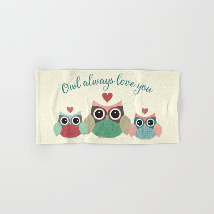 Owl Always Love You Hand & Bath Towel