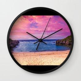 Okinawa Wall Clock