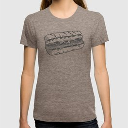 one veg for me, please. T-shirt