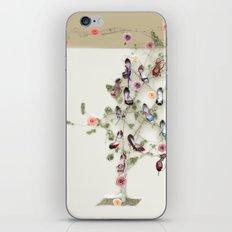 Spring shoe tree iPhone & iPod Skin