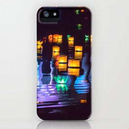 Festival of water lights iPhone Case