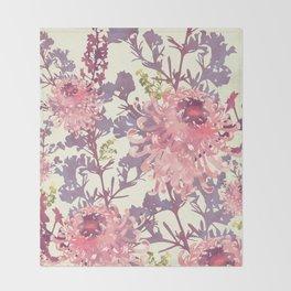 Floral II Throw Blanket