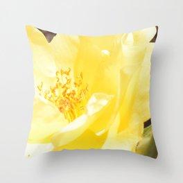 Lemon Pop Throw Pillow