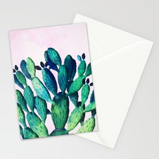 Cactus Three Ways #society6 #decor #buyart Stationery Cards