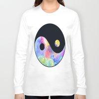ying yang Long Sleeve T-shirts featuring Ying Yang by Johnny Rockets