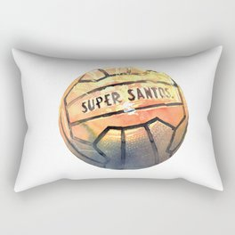 orange ball Rectangular Pillow