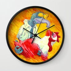 Gonzo With The Wind Wall Clock